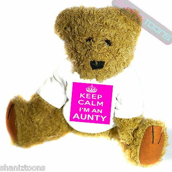Present For Auntie I/'m Going To Be An Auntie Teddy Bear Auntie Gifts