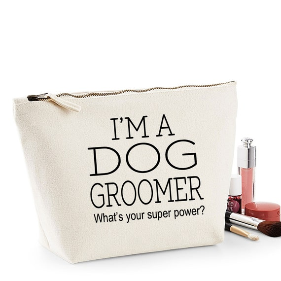 Dog Groomer Thank You Gift Women/'s Make Up Accessory Bag
