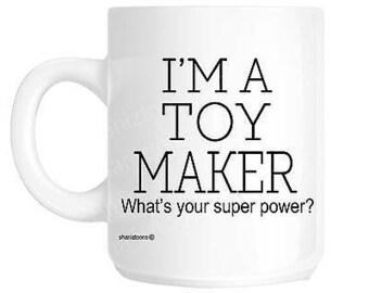 Toy maker novelty gift mug shan1130
