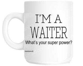 Waiter Novelty Gift Mug shan1142