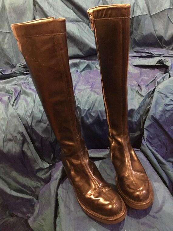 John Fluevog Angelic Sole boots US women's sz 6