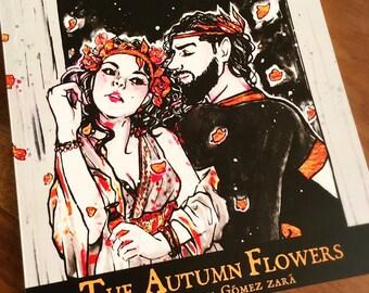 The Autumn Flowers Art Book Set (II)
