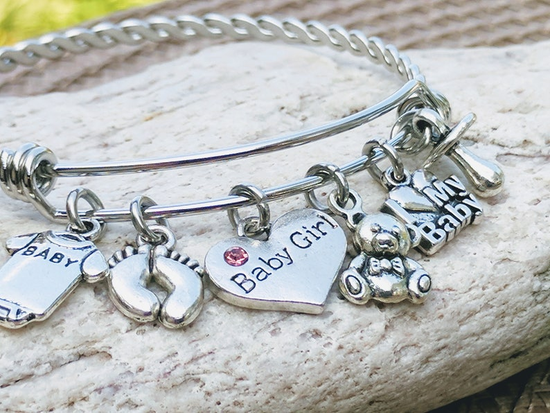 Mom To Be Gift Birthday Jewelry Bracelet New Baby