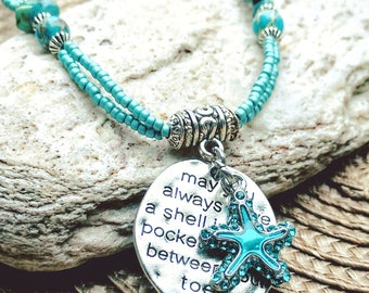 Starfish jewelry, Starfish Jewellery, Starfish necklace, Starfish gift, Beach Jewelry, Beach jewellery, Beach necklace, Free Shipping