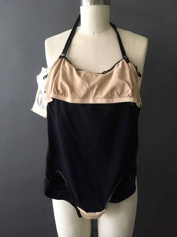 70s 80s Deadstock Reflections Swimsuit - 1970s 19… - image 8