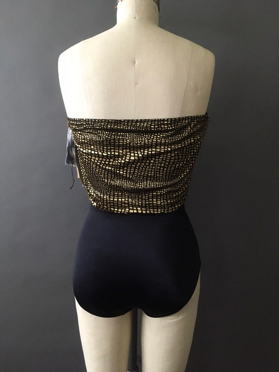 70s 80s Deadstock Reflections Swimsuit - 1970s 19… - image 7