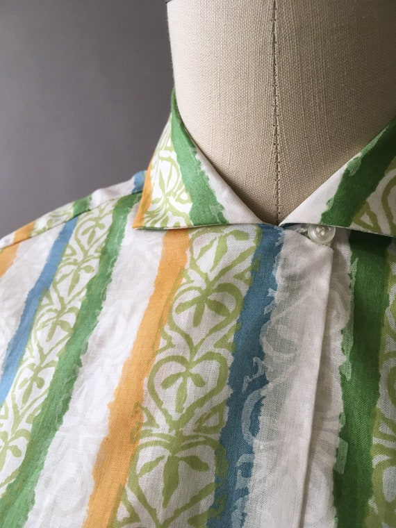 50s The Sunny Painter Shirt - 1950s Vintage Butto… - image 4