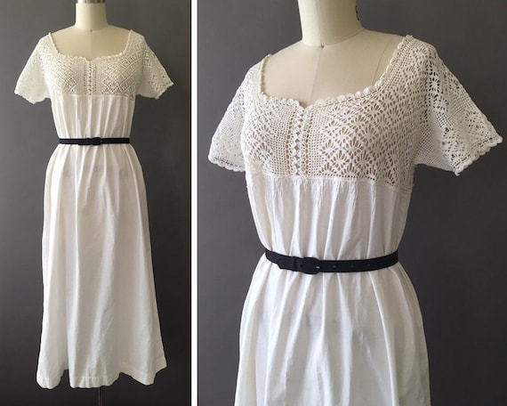 1900s PeekaBoo Belle Dress - Early 1900s Antique V