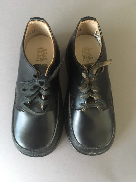70s Deadstock Vintage Kids Shoes - Orthopedic Vin… - image 2