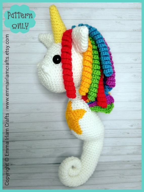 Jazzy the Unicorn Free Amigurumi Pattern | Jess Huff | 759x570