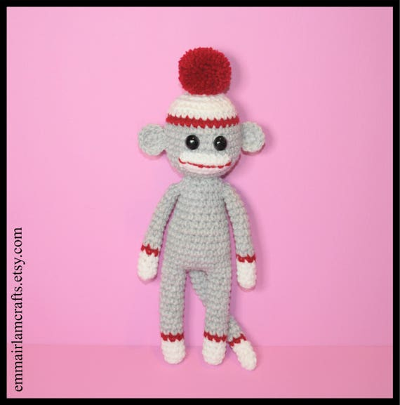 Amigurumi Monkey - pattern no longer available! - Pattern Center | 577x570