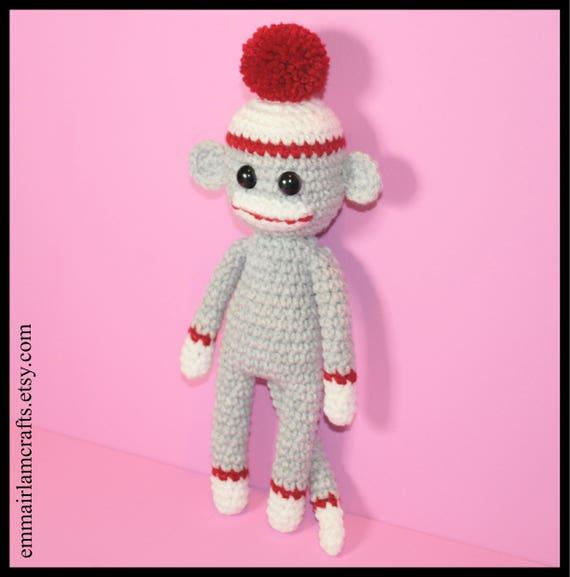 Amigurumi Sock Monkey Crochet Free Patterns | Crochet monkey ... | 577x570