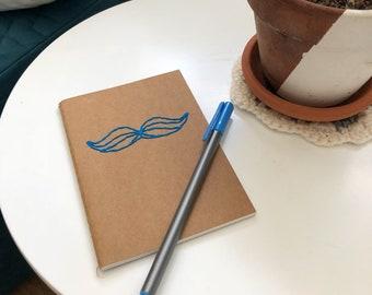 Moustache Pocket Notebook