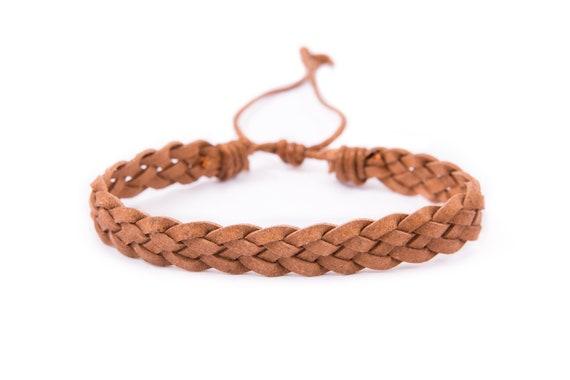 bracelet homme cuir etsy