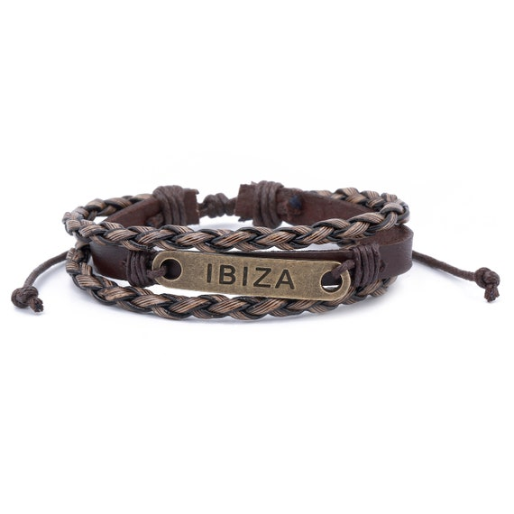 Boho Bracelet Mens Leather Bracelet  Leather Cuff  Bracelet Homme  Mens Bracelet  boyfriend gift  Husband Gift  Mens Bracelet Leather
