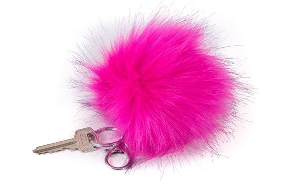 Pom Pom Keychain    Bag Charm Pom Pom    Faux Fur Keychain     2ee8d685e84af