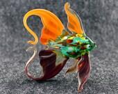 Glass Fish Figurine Fish Sculpture Fish Figure Glass Figurine Glass Figure Animal Sculpture Figurine Handmade Sea Fish Glass Murano(k20)