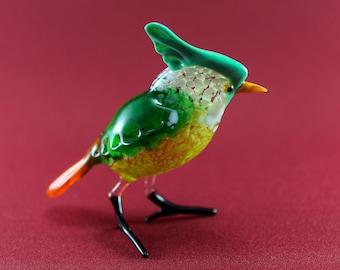 Glass bird, Glass animals, Art Glass