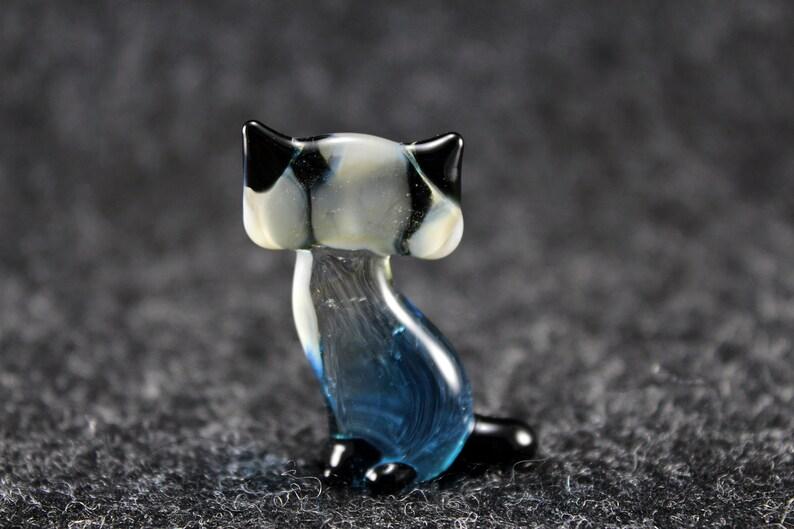 Glass Cat Figurine Glass Cat Glass Animal Sculpture Glass Figurine Glass Figure Glass Animals Glass Figurines Glass Figures Cat