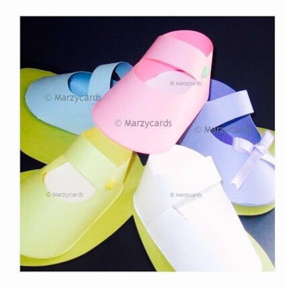 8da97d56bc43 Marzycards Shoes Spring Baby Shoe Gift Box Set of 10 Spring
