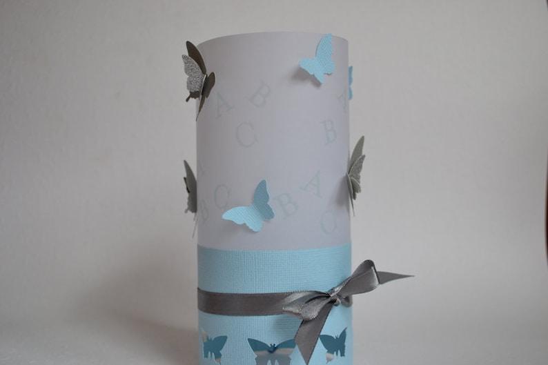 Windlight Light Envelope Table Decoration Training Butterflies