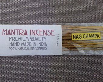 Nag Champa Premier Incense packets of 20 sticks