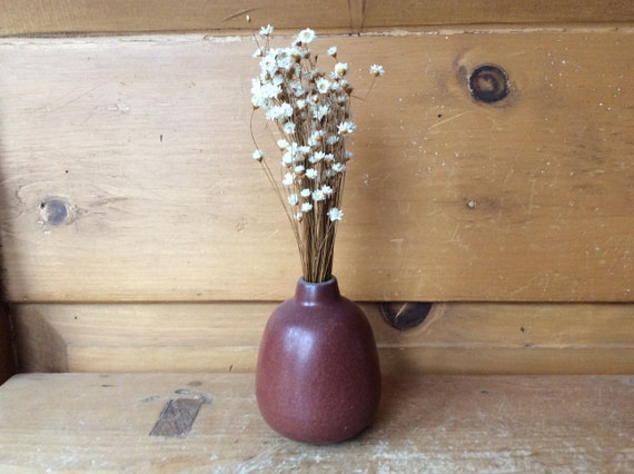 Mid Century Heath Vase Small Studio Pottery Excellent Etsy
