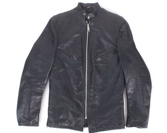 Vintage Schott Jacket - Schott Perfecto Jacket - 60s Schott Jacket - Schott Motorcycle Jacket - Schott Cafe Racer Jacket -60s Leather Jacket