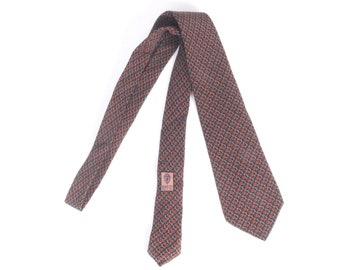 e1de84203ee Vintage 70s Tie - 70s Gucci Tie - Vintage Gucci Tie - Gucci Silk Tie - Gucci  Logo Tie - Gucci Double G Logo Tie - Gucci Horsebit Necktie