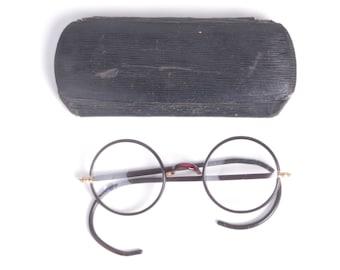 92fabbd8dcd Vintage Windsor Eyeglasses - Vintage Eyeglasses - Windsor Celluloid  Eyeglasses - John Lennon Eyeglasses - Flexible Spring Temple Ends - 20s