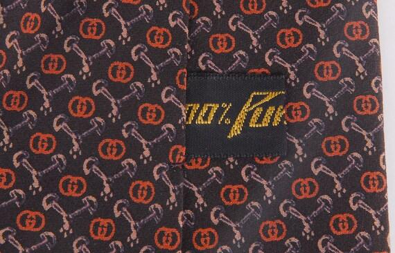 Vintage 70s Tie - 70s Gucci Tie - Vintage Gucci T… - image 6