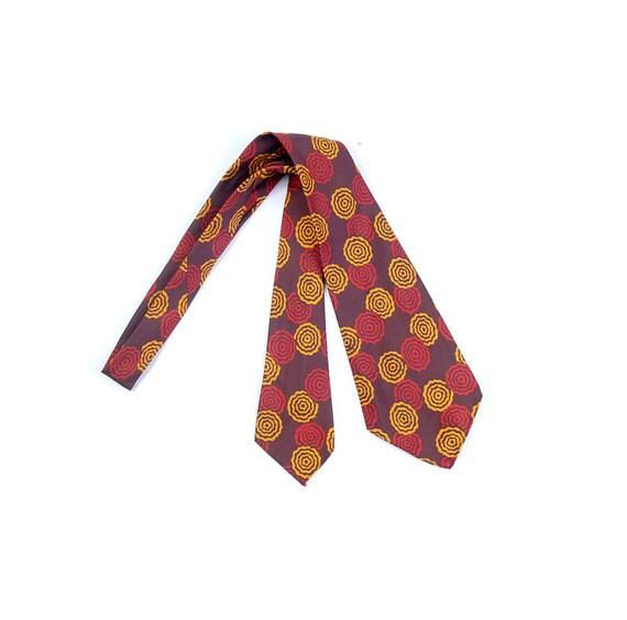 Vintage 40s Necktie - 40s Cravat - 40s Silk Neckti
