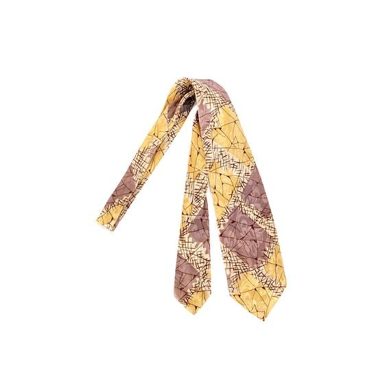 Vintage 50s Tie - 50s Tie - 50s Necktie - 50s Sati