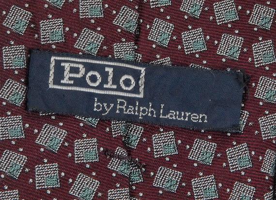 Vintage 80s Tie - Polo Ralph Lauren - 80s Polo - … - image 4