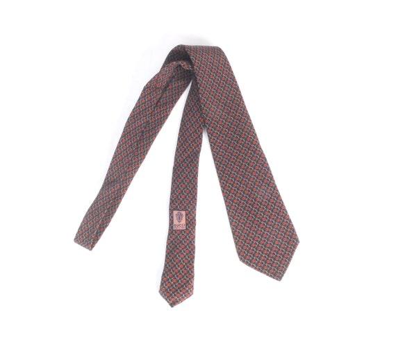 Vintage 70s Tie - 70s Gucci Tie - Vintage Gucci T… - image 1