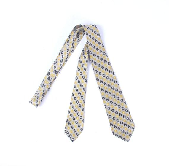 Vintage 30s Necktie - 30s Brocade Necktie - 30s Si