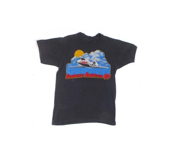 Vintage 80s T-Shirt - Vintage Foghat T-Shirt - 80s