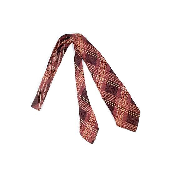 Vintage 30s Necktie - 30s Cravat - 30s Tie - 30s P