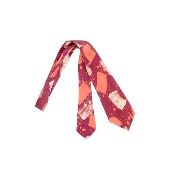 Vintage 50s Necktie - 50s Cravat - 50s Silk Neckti