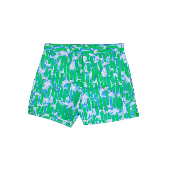 Vintage Lilly Pulitzer Swim Trunks - 60s Lilly Pul