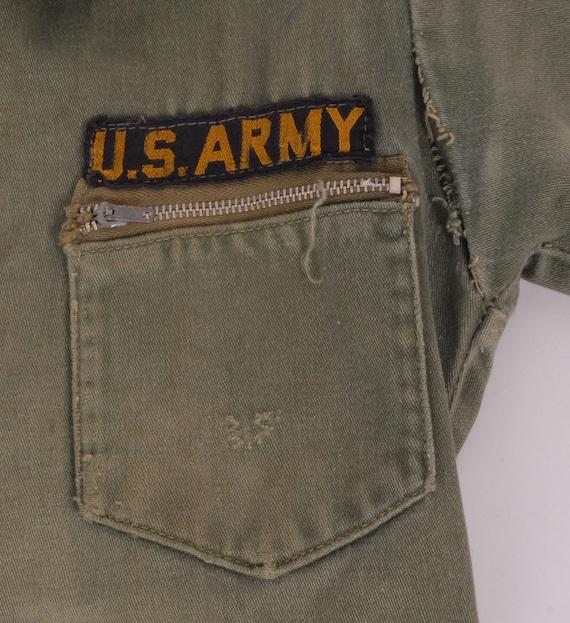 Vintage Boys Jumpsuit - Vintage Army Jumpsuit - B… - image 4