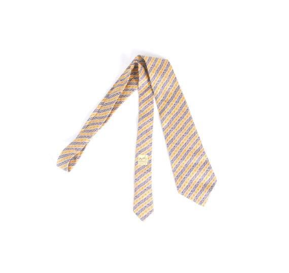 Vintage 80s Tie - 80s Hermes Tie - Vintage Hermes