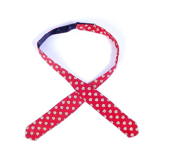 Vintage 60s Tie - 60s Bow Tie - Vintage Bow Tie -
