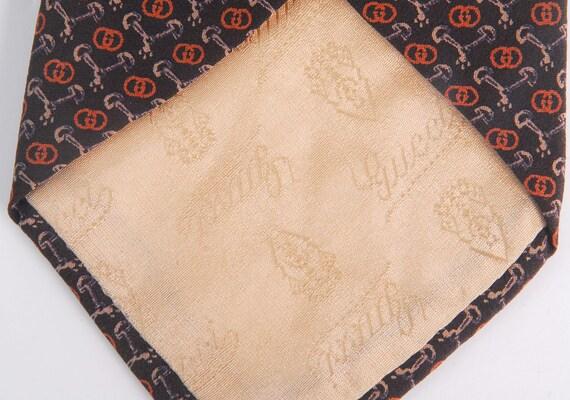 Vintage 70s Tie - 70s Gucci Tie - Vintage Gucci T… - image 7