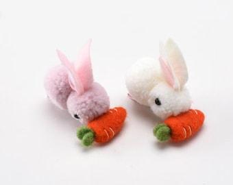 Easter Egg Hair Clips Easter Gifts Bunny Hair Clips Easter Chick Hair Clips Easter Hair Snaps Gifts for Girls