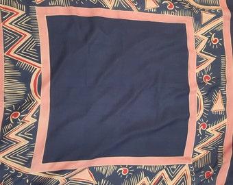 "36"" Square Silk Scarf, Lightweight"