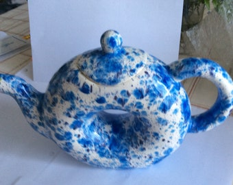 Donut shaped teapot - Hand crafted by Monk who resides in a monestary