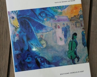 Book Chagall the great painters of Werner Haftmann 1971 vintage