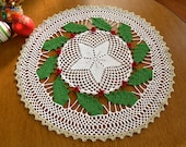 Crochet Christmas Tablecloth