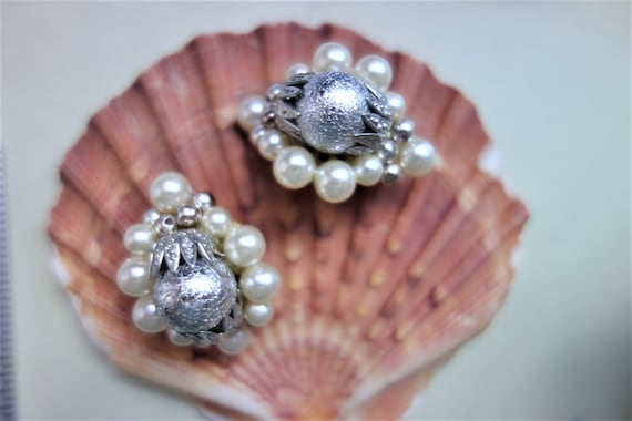 Ear clips-retro jewelry-Boho-Shabby chic-grannies old jewel-great ear clips for vintage speech unde-great gift for Mother/'s Day